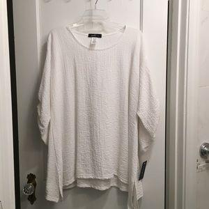 NWT Yushi Women's Tunic Blouse Size XL